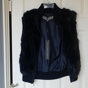 Gorgeous flax fur vest
